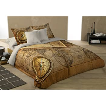 Amazon old world navigation duvet cover bed linen set home old world navigation duvet cover bed linen set gumiabroncs Image collections
