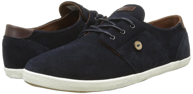 Faguo Cypress, Sneakers Basses Homme, Bleu (005 Navy/Moka), 41 EU