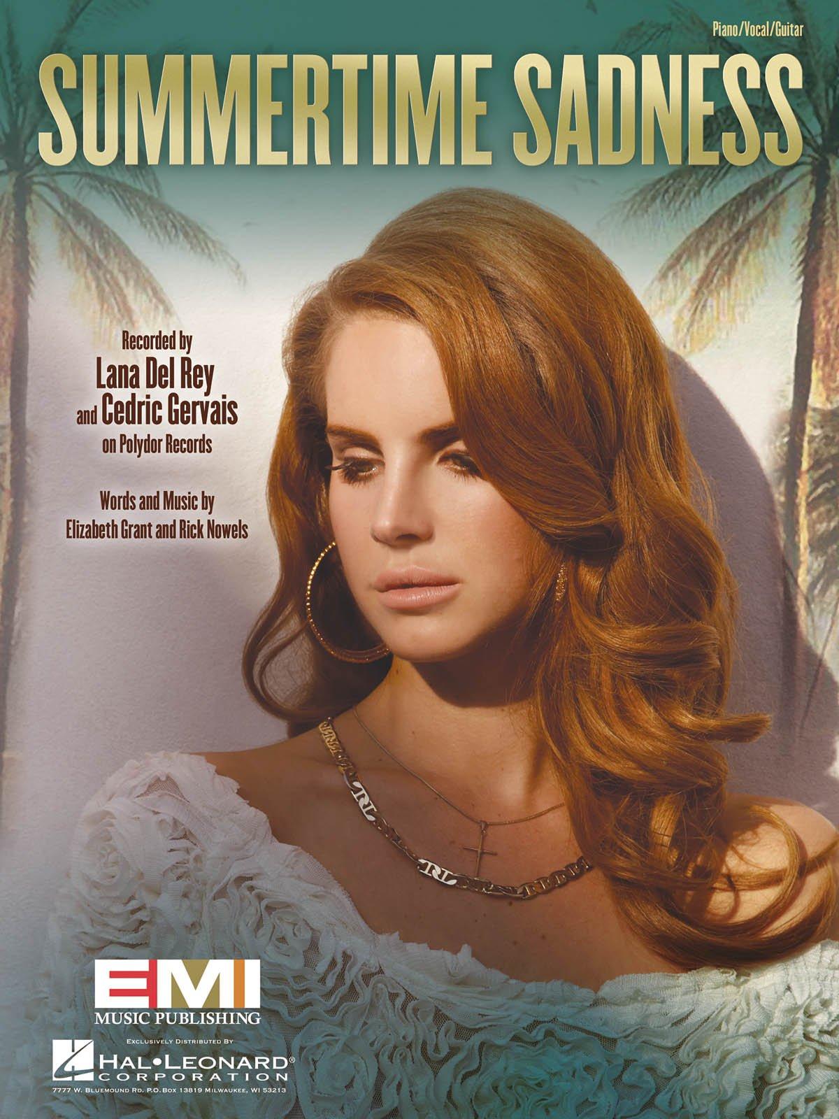 Lana Del Rey Summertime Sadness Sheet Music Single 0884088956707 Amazon Com Books