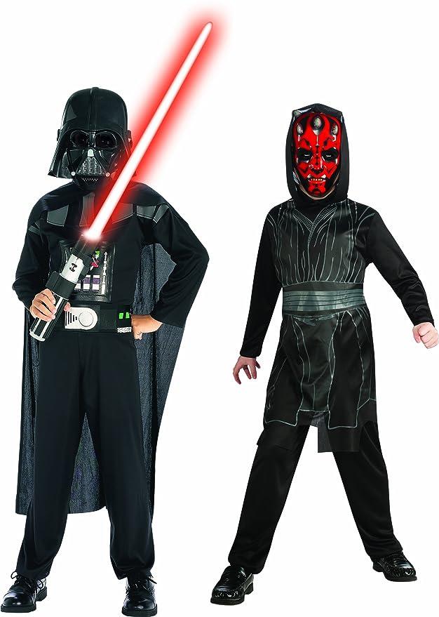 Rubies Star Wars 154559S - Disfraz de Darth Maul para niño (3 años ...