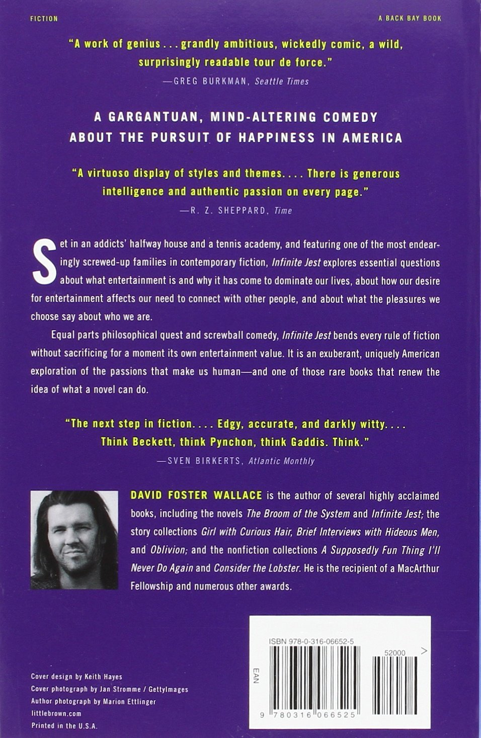 Infinite jest david foster wallace 9780316066525 amazon books fandeluxe Image collections