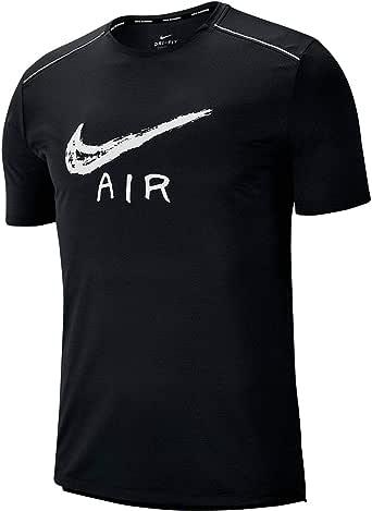 Nike Mens MILER COOL SS GX HBR T-Shirt