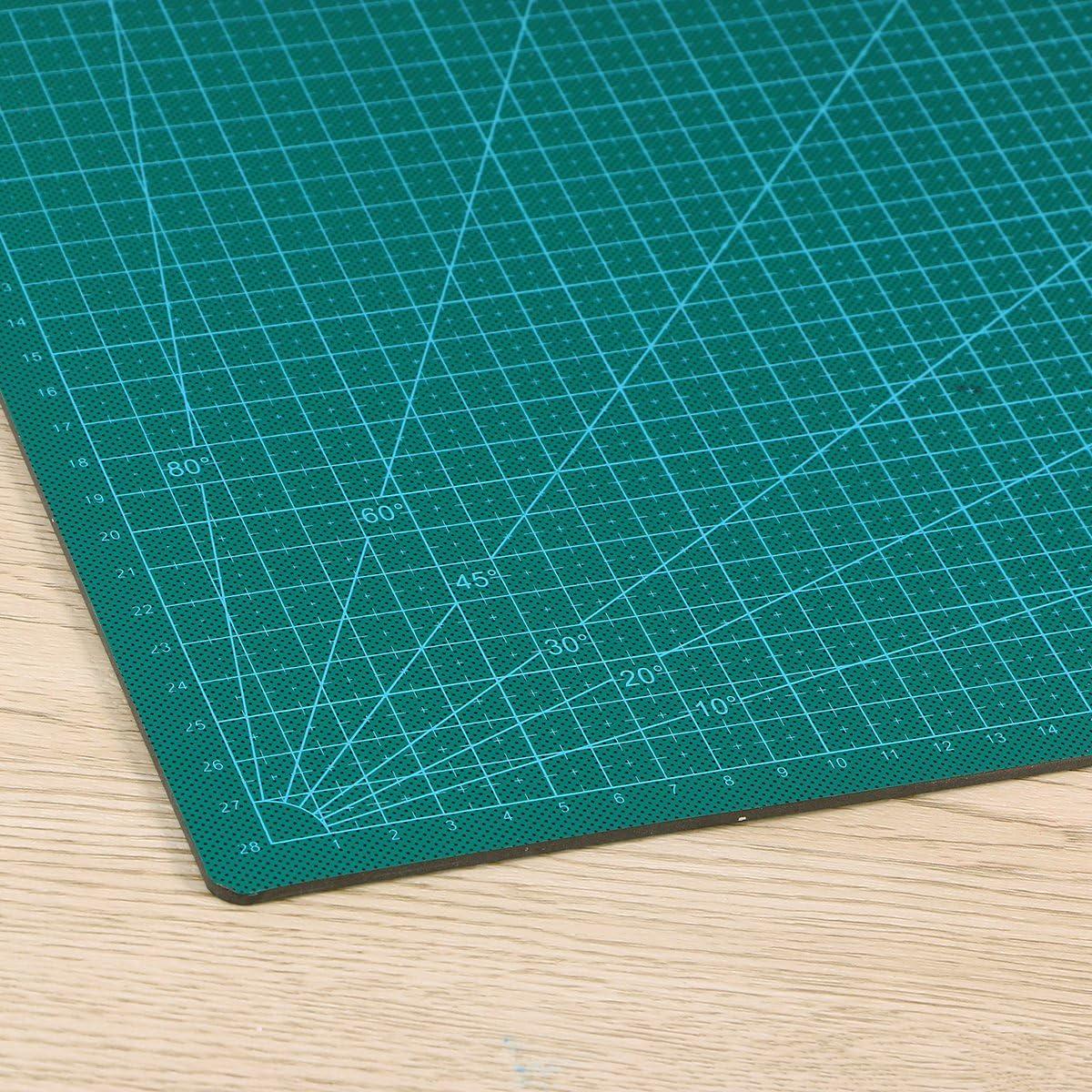 Rosenice Cutting Mat Double-Sided Self-Healing Cutting Mat 45 x 30 cm