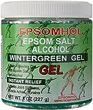 Epsomhol's Epsom Salt Alcohol Wintergreen Gel