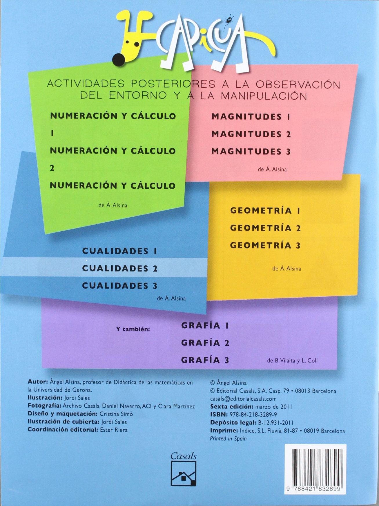 Cuadernos Capicúa. Cualidades 2 - 9788421832899: Amazon.es: Àngel Alsina  Pastells, Jordi Sales Roqueta: Libros