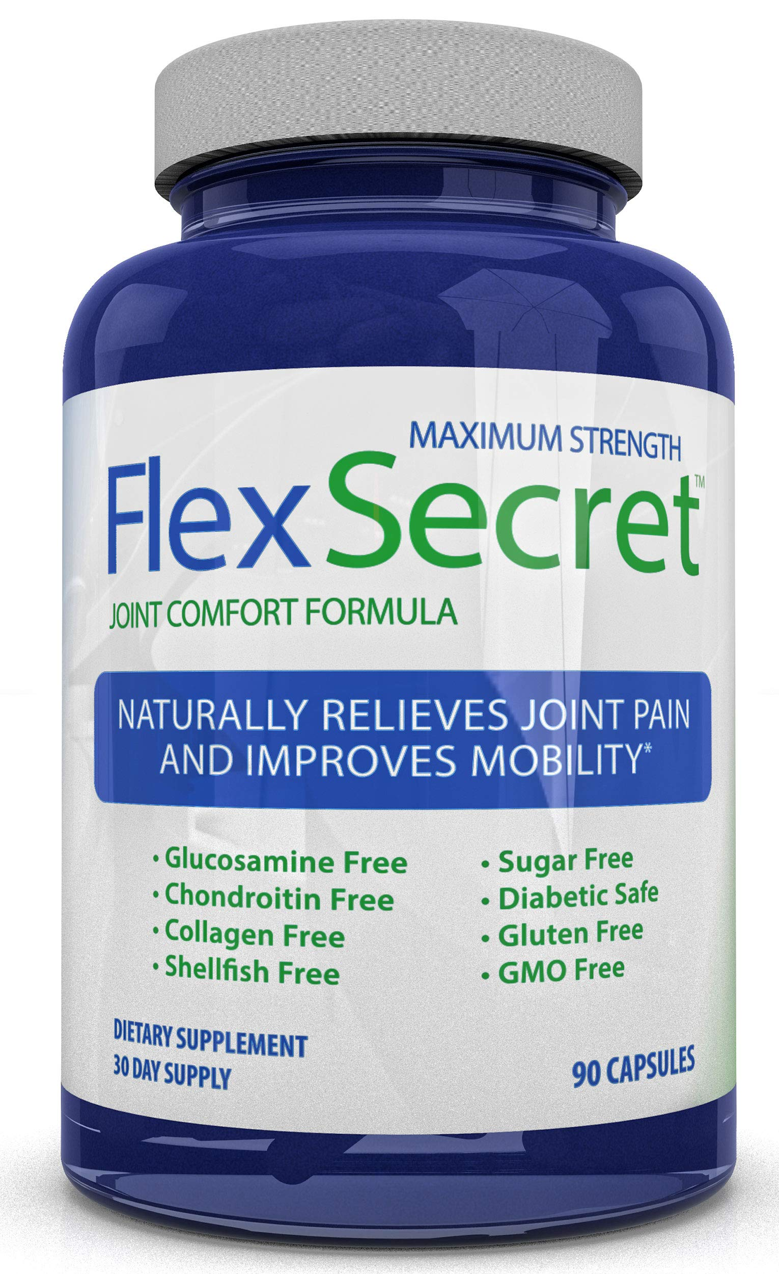 Maximum Strength Flex Secret ~ Joint Pain Relief ~ Best Joint Health Supplements for Men and Women by Sorvita