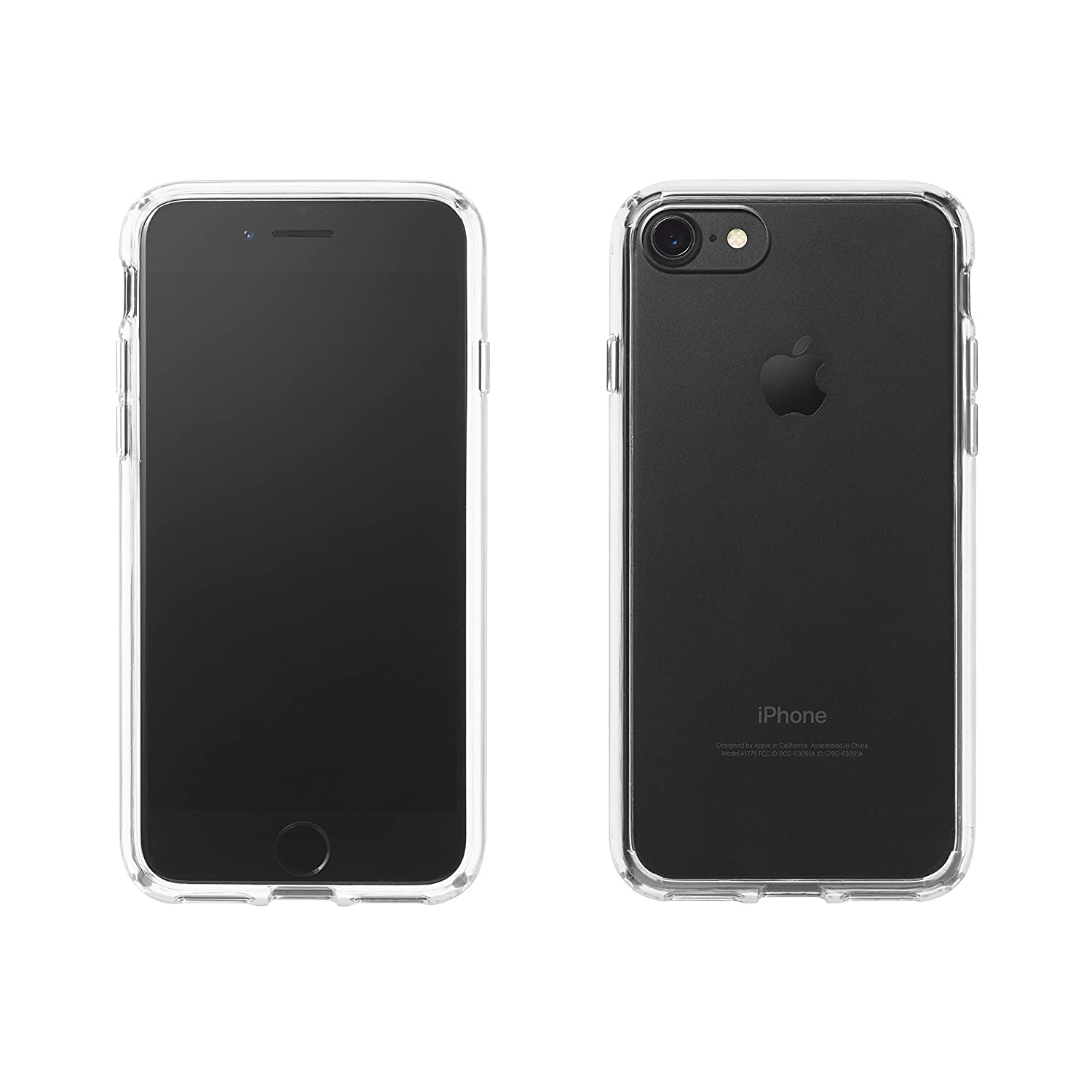 AmazonBasics – Carcasa transparente para iPhone 7