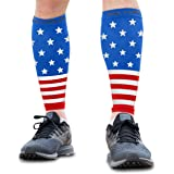 Calf Compression Sleeves - Leg Compression Socks for Runners, Shin Splint, Varicose Vein & Calf Pain Relief