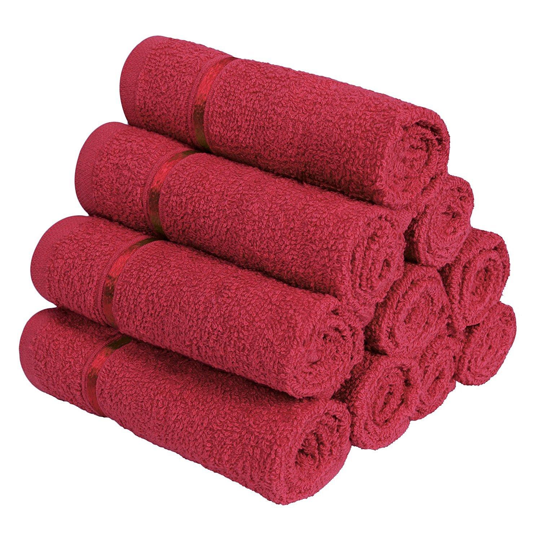 Story Home 100 Cotton Soft Towel Set Of 10 Pieces 450 Gsm 10