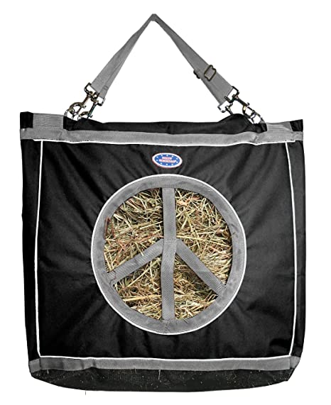 Derby Originals Reflective Peace Luv in Top Load Hay Bag with Hanging Straps 66fcd4bd315e4