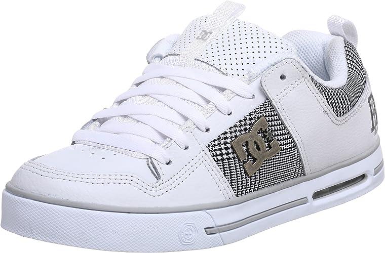 DC Men's Rd Skate Shoe White Size: 13