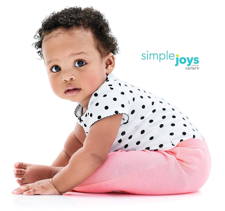 Simple Joys by Carters 4-Pack Pant B/éb/é Fille