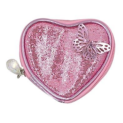 Amazon.com: Niña Rosa Forma De Corazón Dinero Bolso Lovely ...