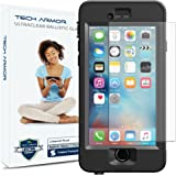 iPhone 6 Plus Glass Screen Protector, Tech Armor Lifeproof Nuud Ballistic Glass Apple iPhone 6S Plus / iPhone 6 Plus (5.5-inch) Screen Protector [1]