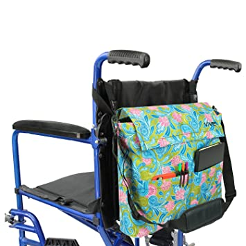 Wheelchair Bag By Vive   Accessory Storage Bag For Carrying Loose Items U0026  Accessories   Travel