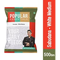 Popular Essentials Sabudana Pouch, 500 g