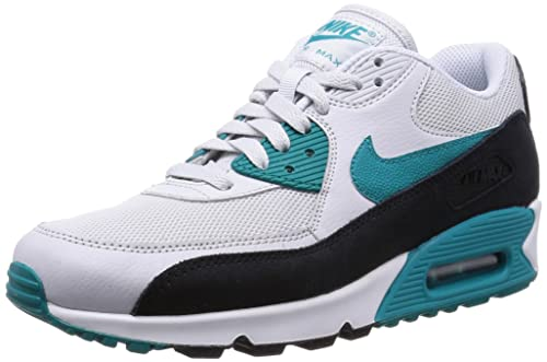 1ed3b11969 ... discount code for nike womens air max 90 grey leather trainers 5 uk  e20d7 3b5d4 ...