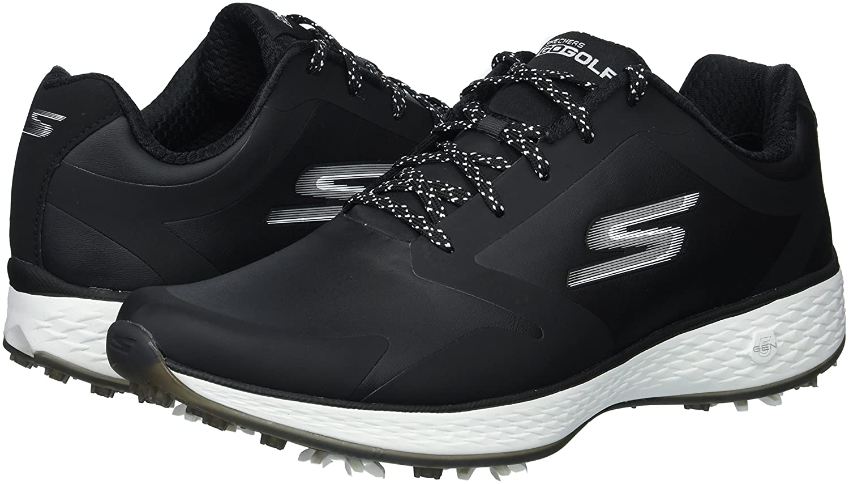 Skechers Women's Go Pro Golf Shoe B074VK7L82 10 B(M) US|Black/White