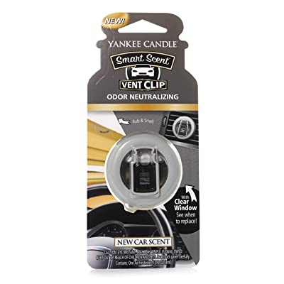 Yankee Candle Vent Clip HW New CAR Scent, Smart: Home & Kitchen