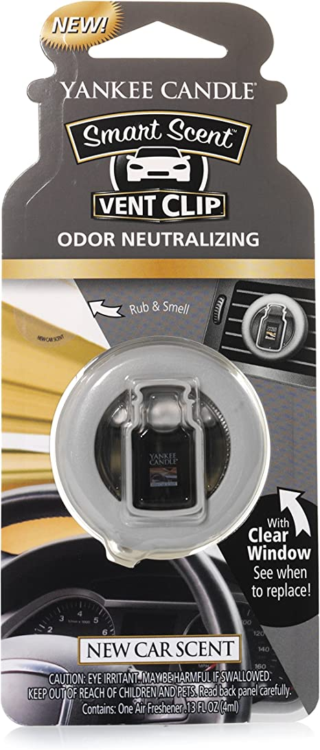 Leather Yankee Candle Smart Scent/™ Vent Clip