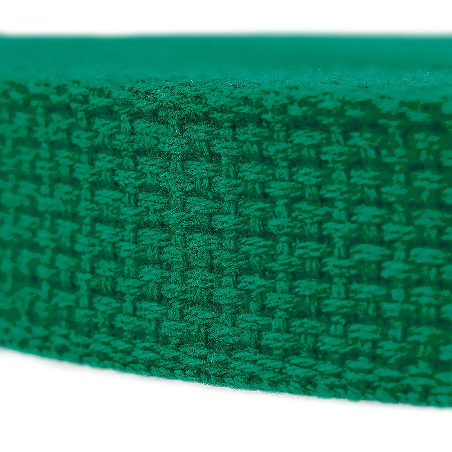 Country Brook Design 1 Inch, 25 Yards Green Heavy Cotton Webbing with 17 Vibrant Color Options