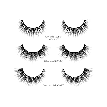 2ec4e9b8afb Velour Lashes - Whispie Collection (3 Pairs of Mink Lashes) - Fake/False