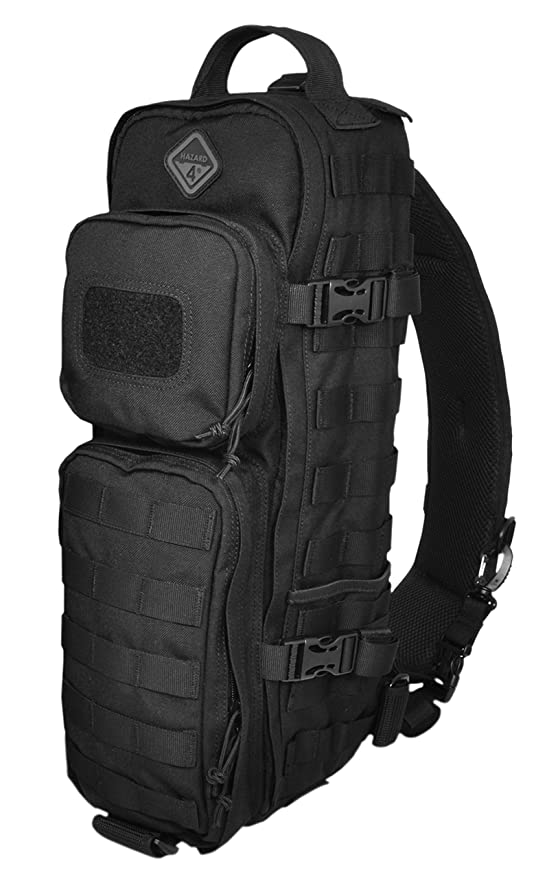 d5758c3fc63 Hazard 4 Evac Plan-B Sling Pack with Molle, Black, Hunting Accessories -  Amazon Canada