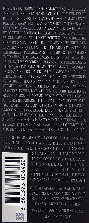 Armani Code Eau de Toilette Spray for Men, 4.2 Fluid Ounce