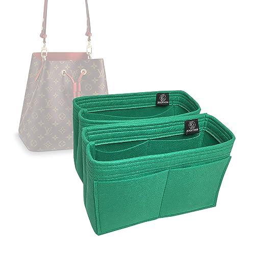 Amazon.com: Zoomoni LV Neo Noe Purse Organizer Insert - Premium Felt (Set of 2 / Handmade / 10 Colors) (Candy Pink): Shoes