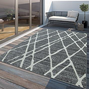 Tt Home Tapis Outdoor Moderne Resistant Aux Intemperies Pour