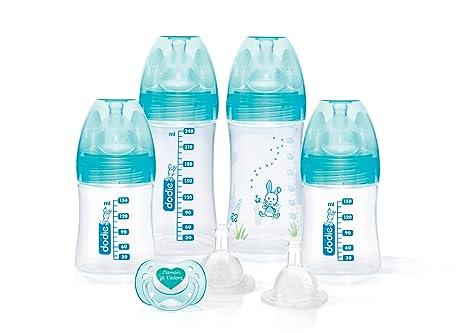 Dodie recién nacido - Juego de 4 biberones (2 x 150 ml y 2 x ...