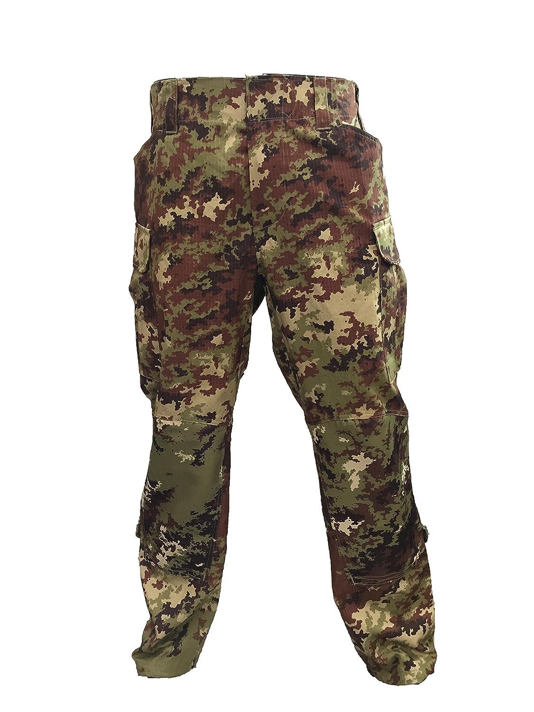 ALGI Pantaloni da Combattimento Antistrappo Vegetato Trattato IR (Mod. Soldato Futuro) OUTLET MILITARY