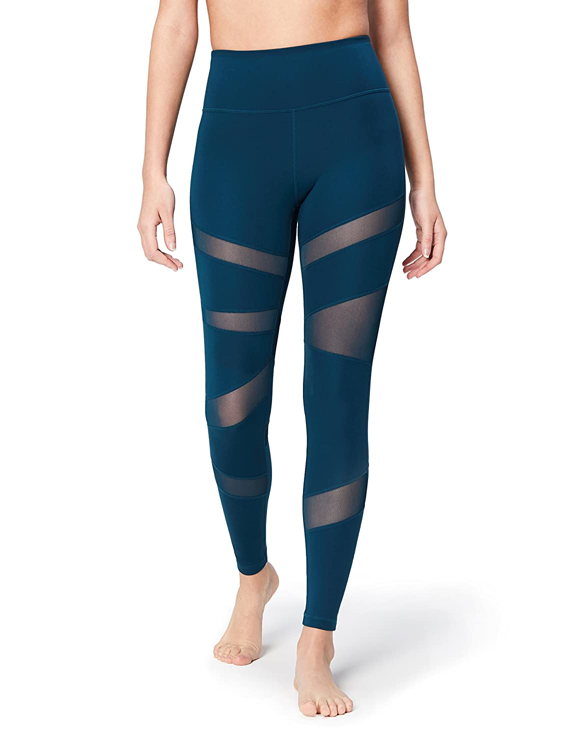 6182165befdfd6 Core 10 Women's Icon Series - The Warrior Mesh Legging: Amazon.ca: Clothing  & Accessories