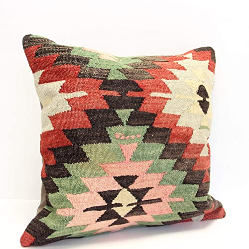 Throw Pillow cover 20x20 inch Retro Pillow Living Room Kilim pillow cover Novelty Home Decor Handmade Kilim cushion cover L-1641