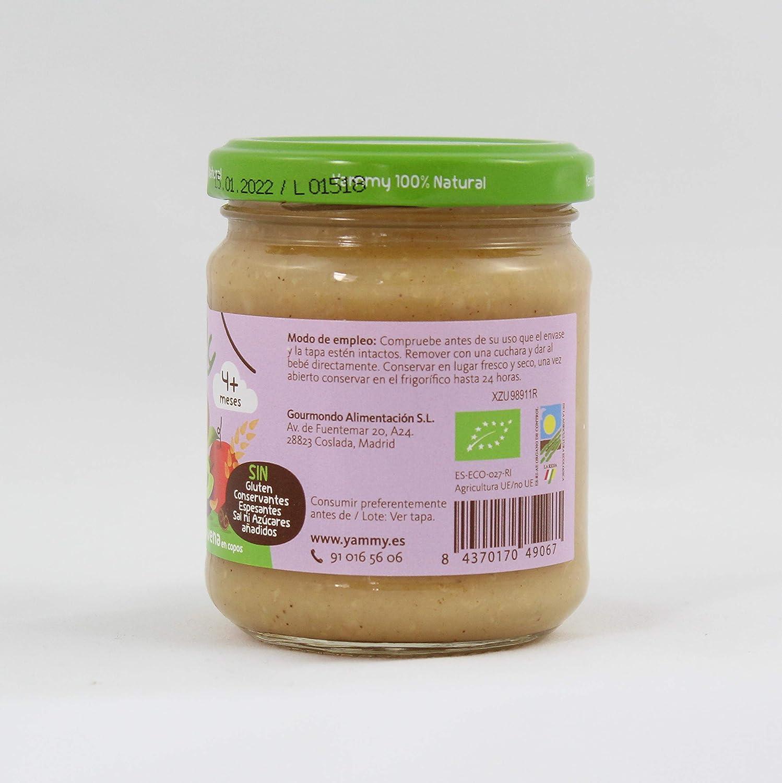Yammy, Potito Ecológico de Frutas (Manzana, Ciruela, Avena) - 12 de 195 gr. (Total 2340 gr.): Amazon.es: Alimentación y bebidas