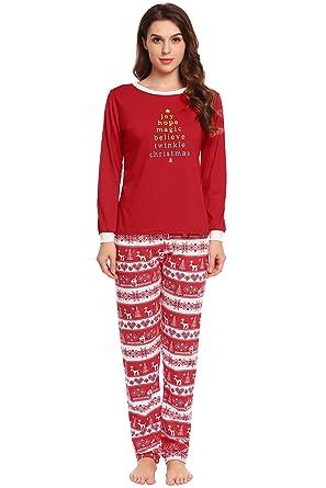 schönes Design zum halben Preis Genieße am niedrigsten Preis Lucyme Weihnachten Pyjama Schlafanzug Familie Weihnachts ...