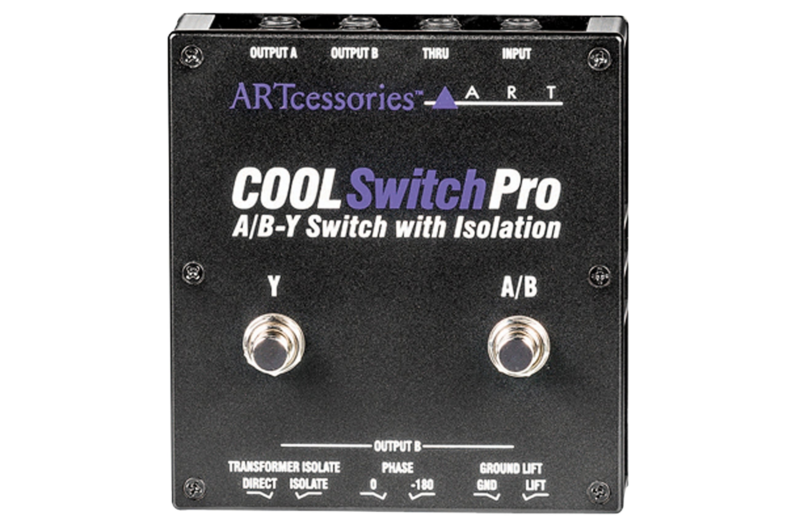 ART CoolSwitchPro Isolated A/B-Y Foot Switch with Isolation