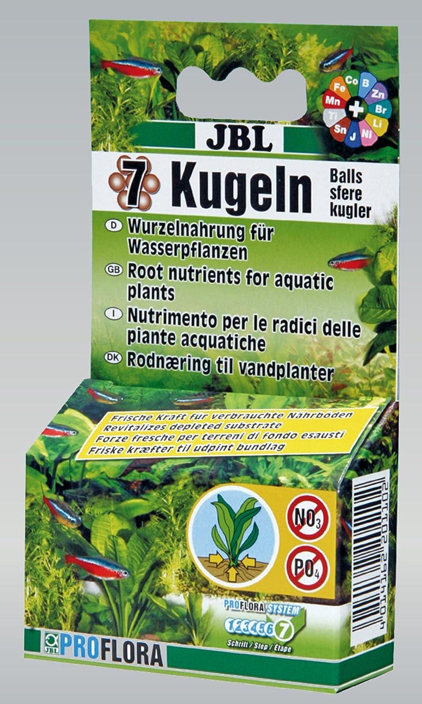JBL Pack de 7 Boulettes d'Engrais Fertilisant pour les racines des plantes aquatiques 67g 2011081 18710