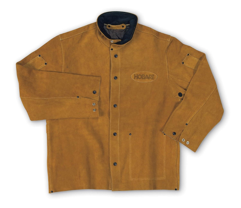 5cc3497ca Hobart 770664 Genuine Split Cowhide Welding Jacket, Medium