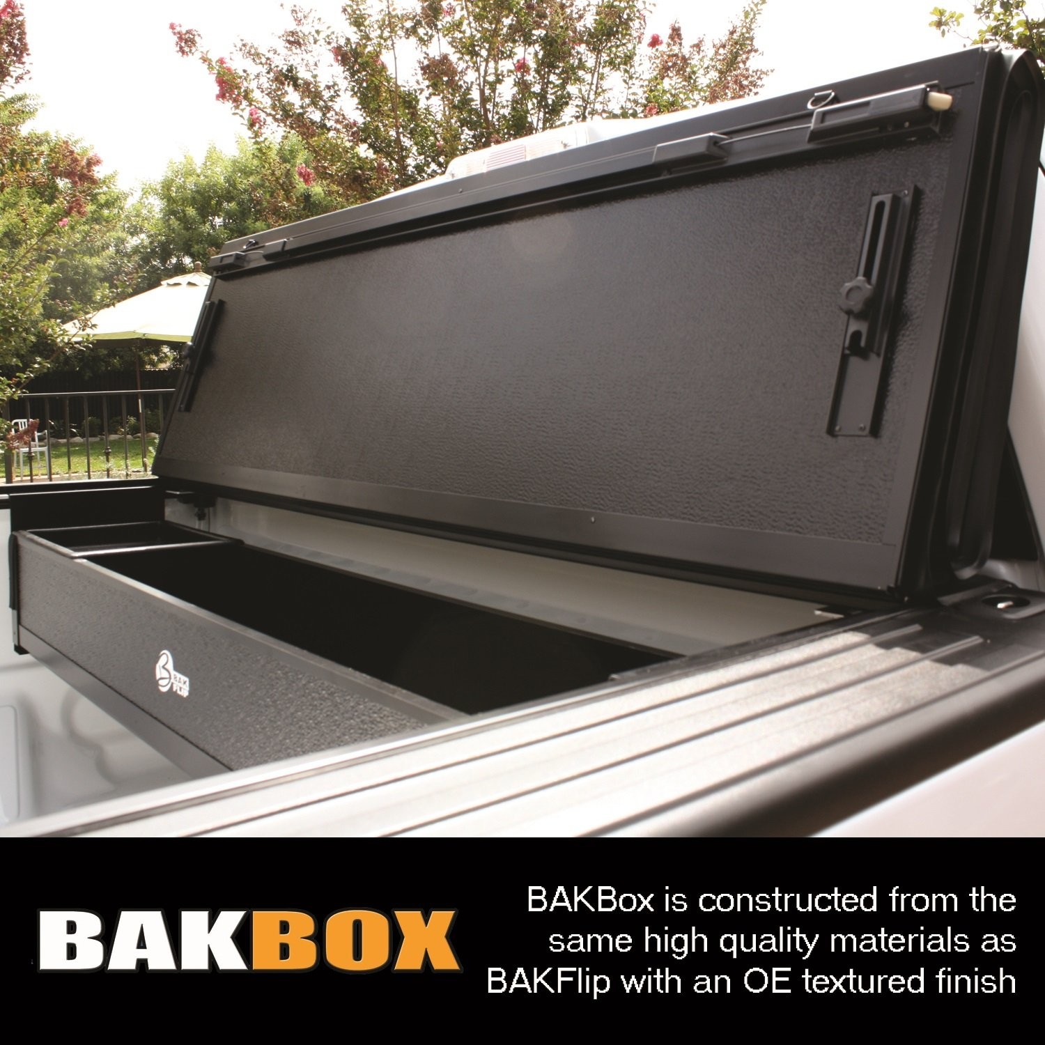 BAK Industries 90207 BakBox Tool Box for RAM 1500 Crew Cab