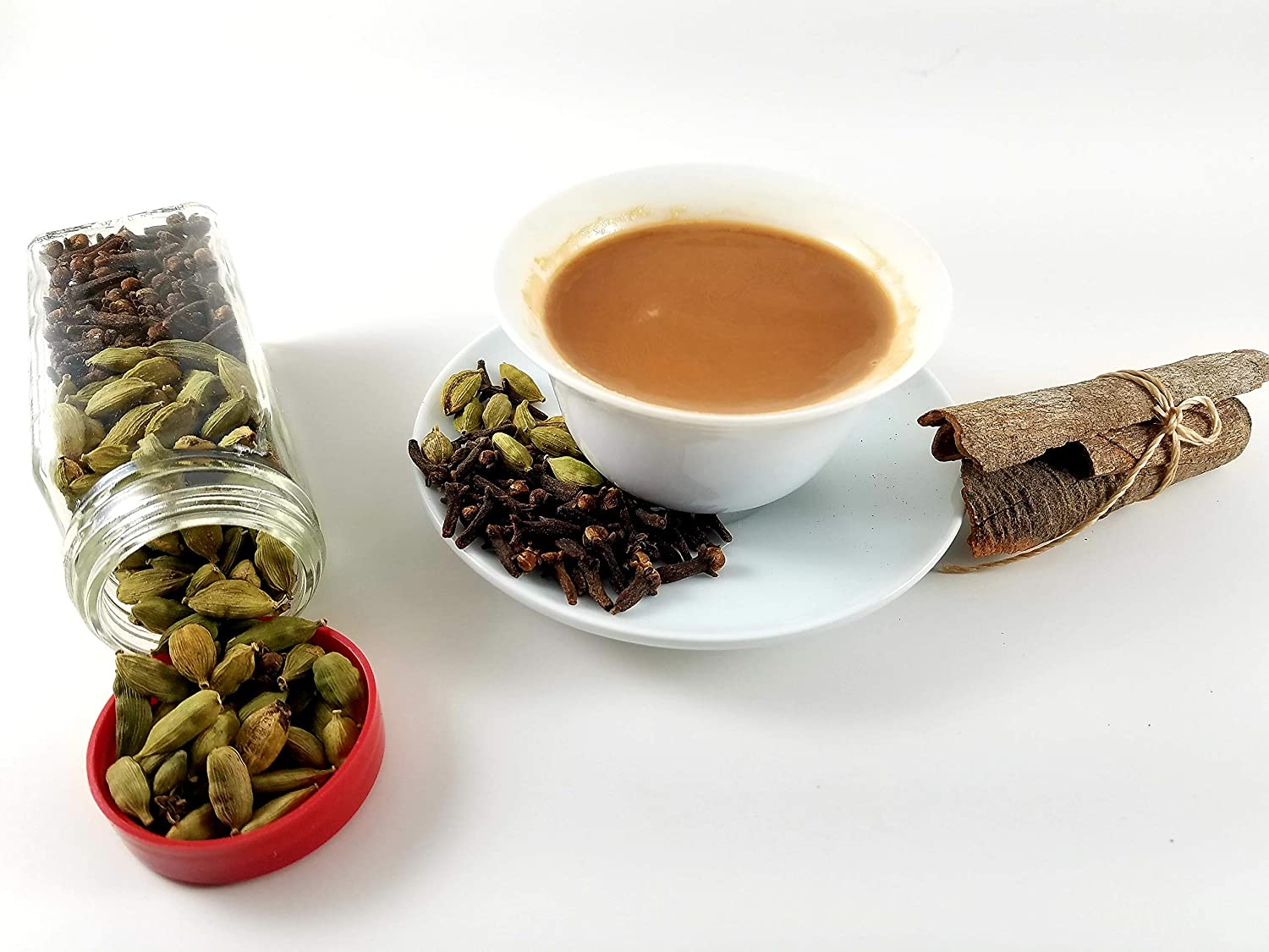 Loose leaf chai tea | 100% Natural spices, No added flavoring & High Energy Teas