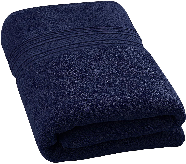 Utopia Towels 700 GSM Premium Cotton Extra Large Bath Towel (35 Inch by 70 Inch) Soft Luxury Bath Sheet, Grey UT0485