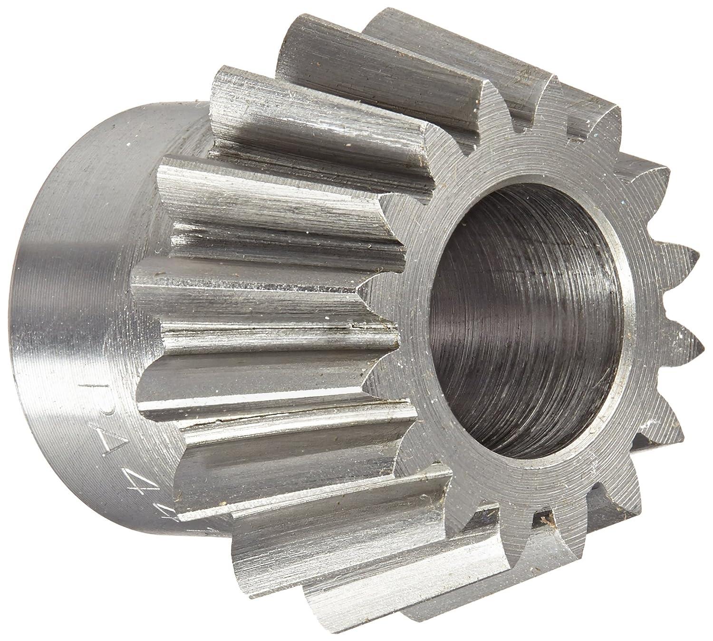 Boston Gear PA4416Y-P Bevel Pinion Gear, 4:1 Ratio, 0.500' Bore, 16 Pitch, 16 Teeth, 20 Degree Pressure Angle, Straight Bevel, Steel 0.500 Bore PA4416YP