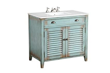 Great 36u201d Benton Collection Cottage Look Abbeville Bathroom Sink Vanity Cabinet    Model # CF28884BU