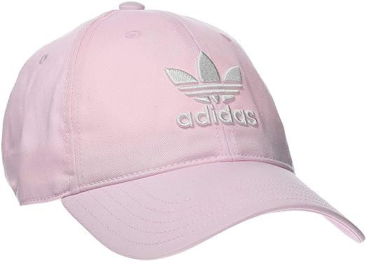 adidas Originals Trefoil Cap One Size Clpink White at Amazon Men s ... f58bba8666b
