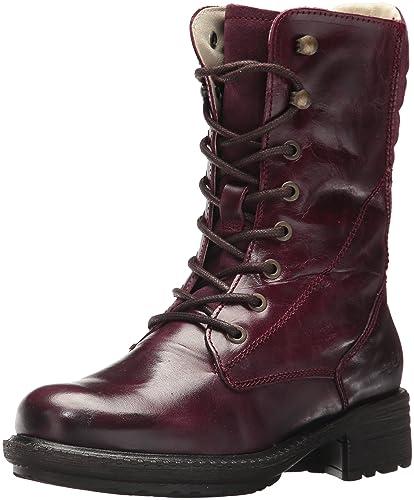 c12dd3418559d Bos. & Co. Women's Salem Mid Calf Boot Purple/Prune Lagoon/Suede 38 M EU  (7.5-8 US)