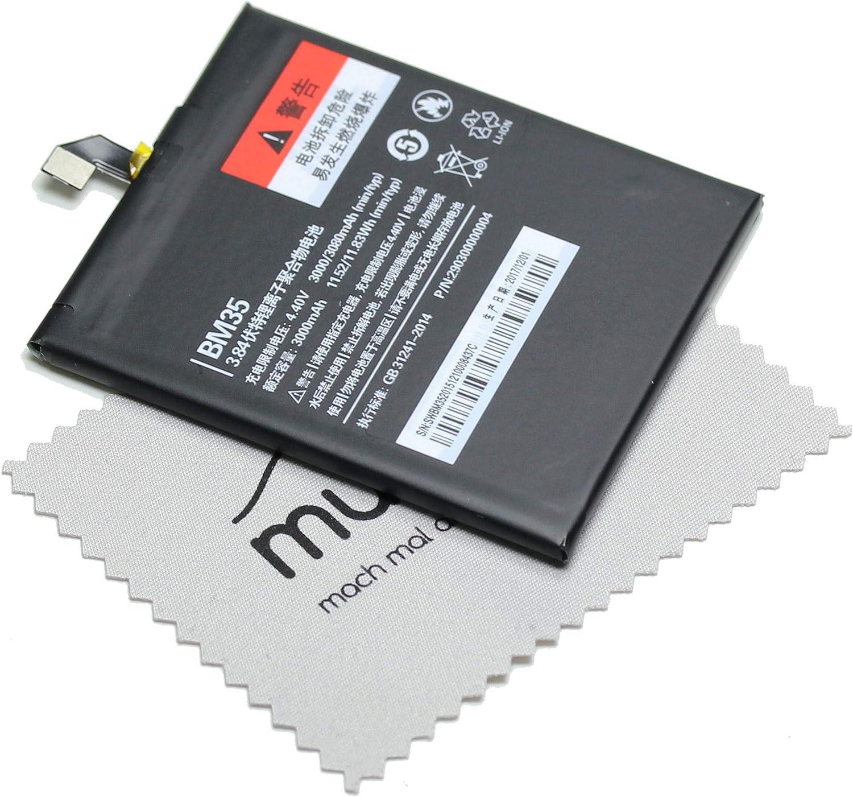 Batería para Xiaomi Original BM35 para Xiaomi Mi 4c + paño mungoo ...