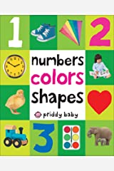 First 100 Padded: Numbers Colors Shapes Kindle Edition
