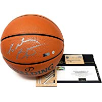 $1799 » Kobe Bryant Los Angeles Lakers Signed Autograph NBA Replica Game Basketball Steiner Sports &…