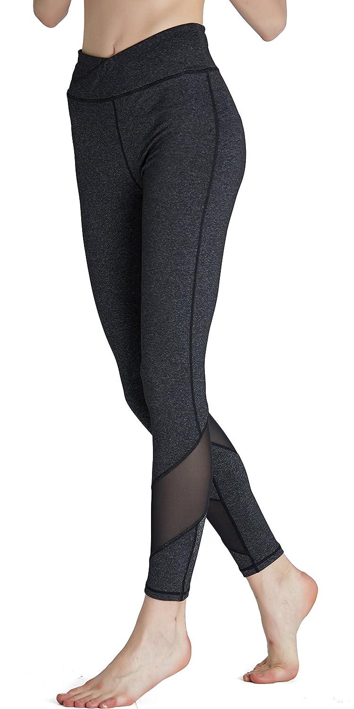 bb990c791d684 SPECIALMAGIC Women's Mid Waist Squat Proof Workout Mesh Yoga Leggings at  Amazon Women's Clothing store: